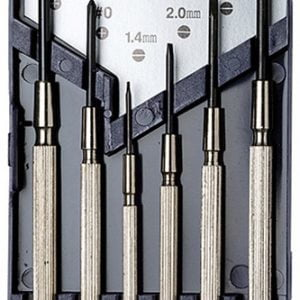 6 Piece Precision Screwdriver Set by Excel 55662