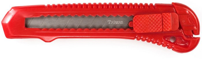 K13 Heavy Duty Plastic Snap Blade Knife 7pt. by Excel 16013