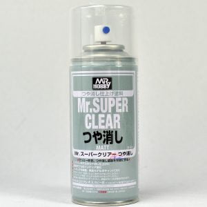 Mr Super Clear Flat Matt 170ml GUN-514