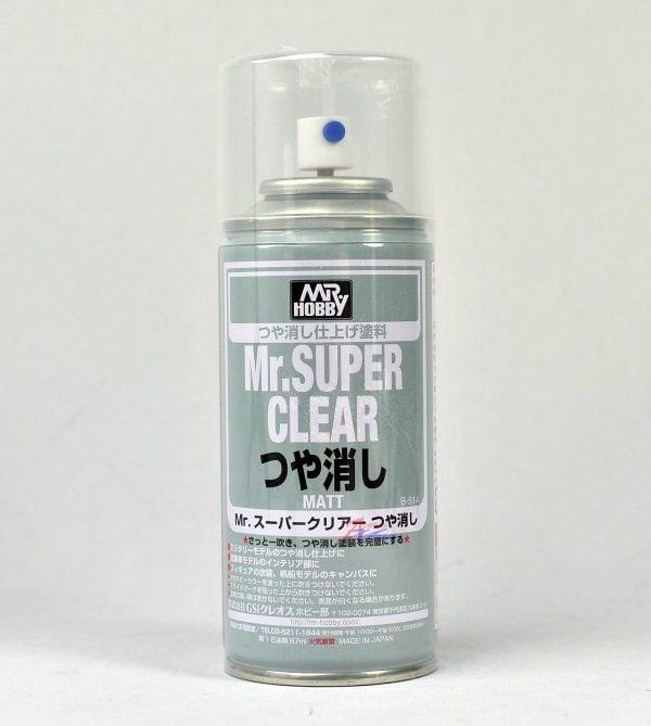 Mr Super Clear Flat Matt 170ml GUN-514