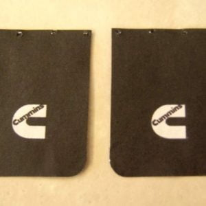 Cummins Truck Mud Flap Set by Plastic Dreams PTD-1001