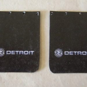 Detroit Diesel Truck Mud Flap Set by Plastic Dreams PTD-1002