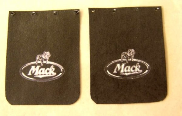 Mack Truck Mud Flap Set by Plastic Dreams PTD-1005