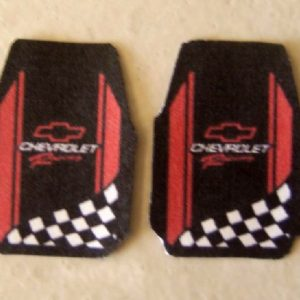 Chevy Racing Car Mat Set by Plastic Dreams PTD-215