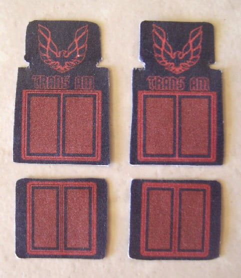 Trans Am Car Mat Set by Plastic Dreams PTD-219