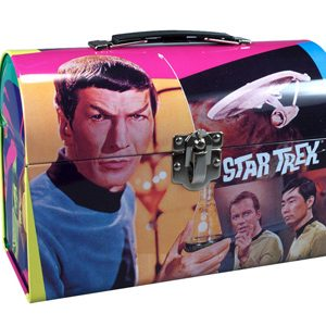 Star Trek Mr Spock Lunch Tin with Figure by AMT 810