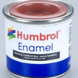 100 Red Brown Matt Humbrol Enamel Paint