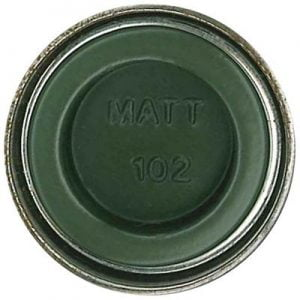 102 Army Green Matt Humbrol Enamel Paint