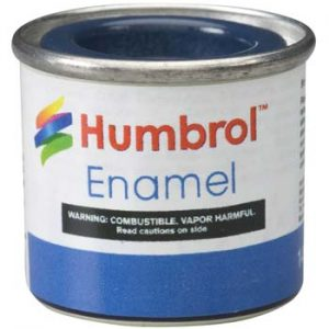 104 Oxford Blue Matt Humbrol Enamel Paint