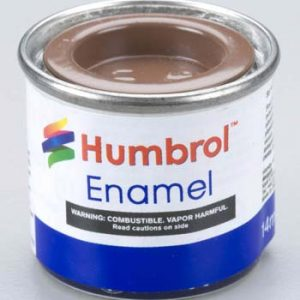 186 Brown Matt Humbrol Enamel Paint