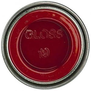19 Bright Red Gloss Humbrol Enamel Paint