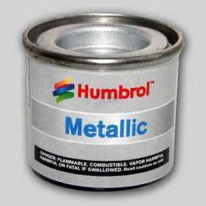 11 Silver Metallic Humbrol Enamel Paint
