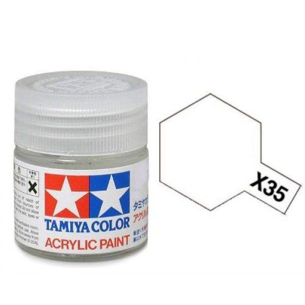 Tamiya Acrylic Paints X35 X-35 81535 Semi Gloss Clear