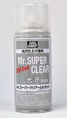 Mr. Super Clear UV Cut Gloss 170ml Spray GUZ 522