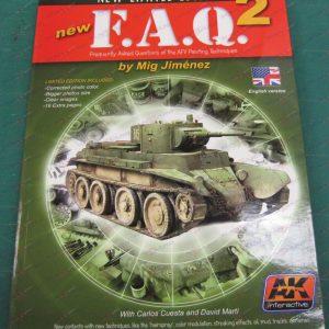 FAQ 2 AFV Painting Techniques Book AK Interactive AKI-038 image