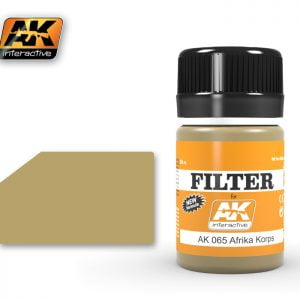 Africa Korps Filter by AK Interactive AKI-065
