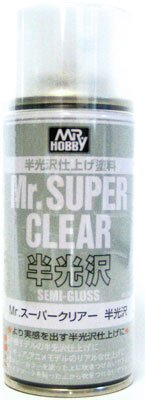 Mr. Super Clear Semi Gloss 170ml Spray GUZ-516