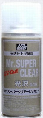 Mr. Super Clear UV Cut Gloss 170ml Spray GUZ-522