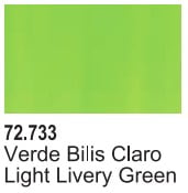 Vallejo Game Air Color Colour Light Livery Green 72-733