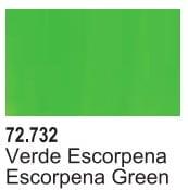 Vallejo Game Air Color Colour Escorpena Green 72-732