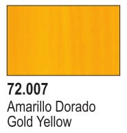 Vallejo Game Air Color Colour Gold Yellow 72-707