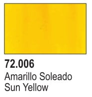 Vallejo Game Air Color Colour Sun Yellow 72-706