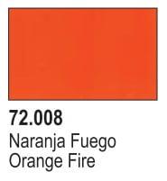 Vallejo Game Air Color Colour Orange Fire 72-708