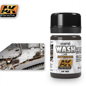 Enamel Wash for Interior AK Interactive AKI-093