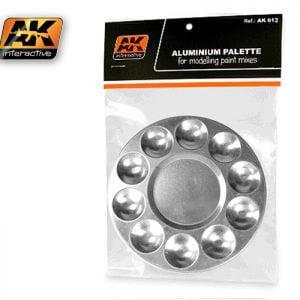 Aluminum Pallet 10 wells AK Interactive AKI-613