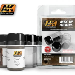 Mix N Ready Jars AK Interactive AKI-616