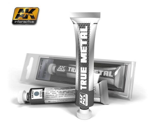 True Metal Silver by AK Interactive AKI-458