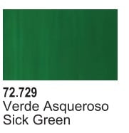 Vallejo Game Air Color Colour Sick Green 72-729