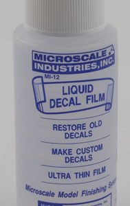Micro Liquid Decal Film by Microscale Industries MI-12 MI12