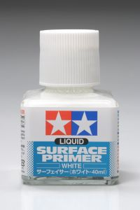 Liquid Surface Primer Tamiya White 87096