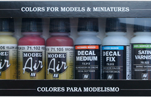 RLM Colors III Model Air Paint Set of 8 Vallejo 71164