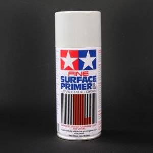 Tamiya Fine Surface Primer Light Gray Grey 87064 180ml