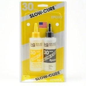 30 Minutes Slow Cure Epoxy 9 oz size BSI 206