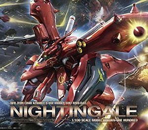 Bandai 01 MSN-04 11 Nightingale RE/100 1/100 Scale 192082