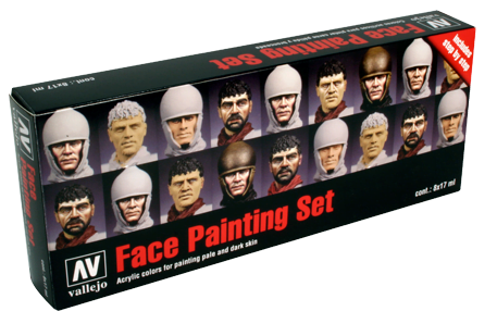Face Painting Set of 8 Vallejo 70119
