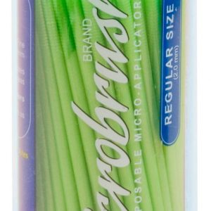 Microbrush Regular Green Bulk 100 Pack MHR10