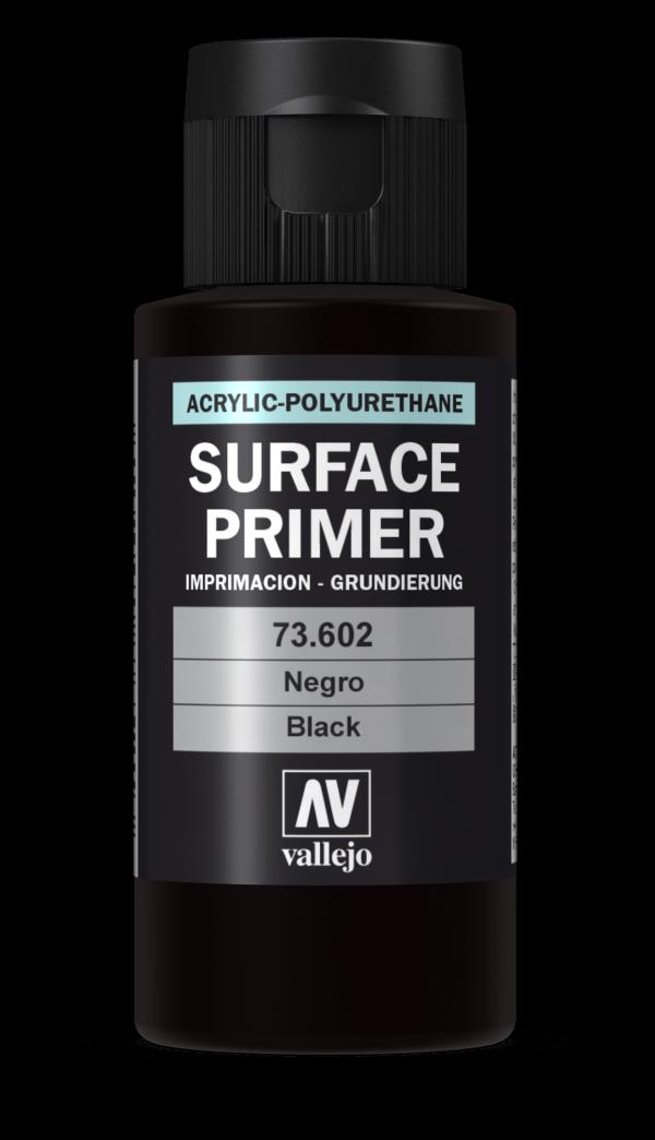 60ml Vallejo Primer Model Color Colour 73602 Black