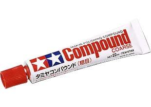 Tamiya Polishing Compound Course 87068