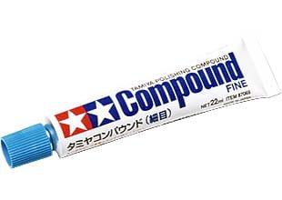 Tamiya Polishing Compound Fine 87069