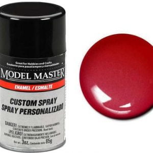 Model Master Spray Paint 2972 Fire Red