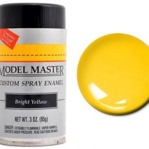 Model Master Spray Paint 2917 Bright yellow