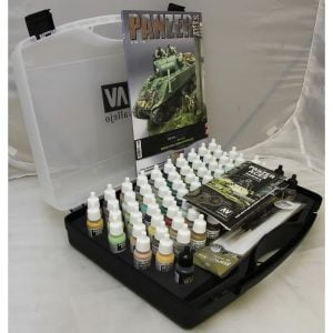 Panzer Aces Acrylic Paint Set by Vallejo 70174