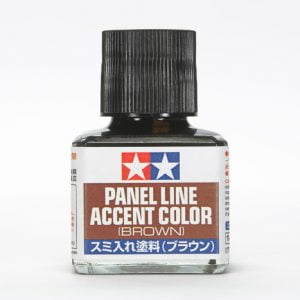 Brown Tamiya Panel Line Accent Color 87132