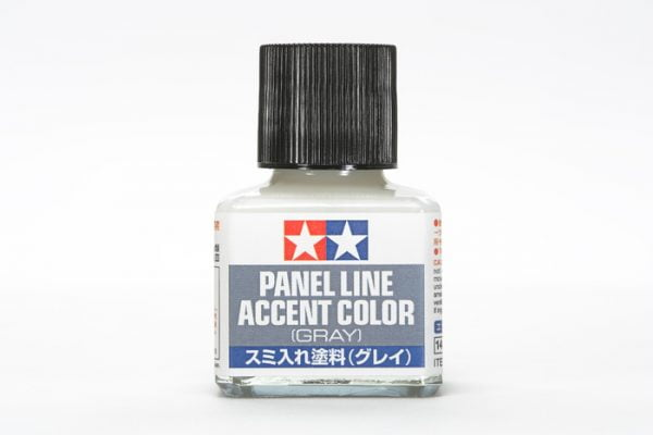 Gray Grey Tamiya Panel Line Accent Color 87133