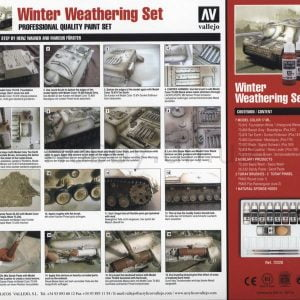 Back Winter Weathering Set by Vallejo 72220