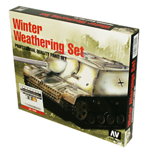 Winter Weathering Set by Vallejo 72220